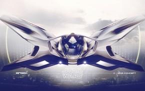 Picture design, transport, technique, camera, X-wing concept