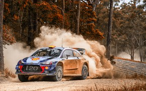 Picture Auto, Forest, Sport, Machine, Race, Skid, Hyundai, Car, WRC, Rally, Rally, i20, Andreas Mikkelsen, Hyundai …