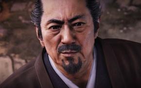 Picture game, man, samurai, japanse, Nioh