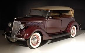 Wallpaper Ford, retro, Deluxe Phaeton
