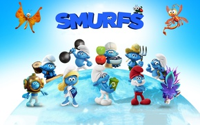 Picture cinema, movie, film, animated film, animated movie, Smurfs The Lost Village