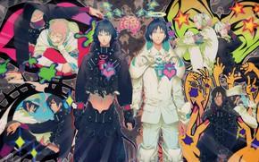 Picture DRAMAtical Murder, Koujaku, Nitro+CHiRAL, Ren, Clear (DMMd), Noiz (DMMd), Honya Lala, Mink (DMMd)