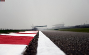 Picture asphalt, The curb, Grand Prix of China