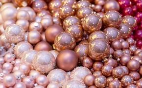 Picture Christmas toys, balls, balls, decoration