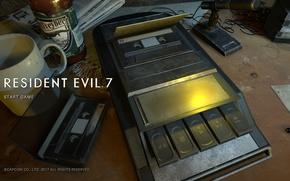 Picture game, Resident Evil, screen, Capcom, fear, Biohazard, official wallpaper, terror, Resident Evil 7, Biohazard 7, …