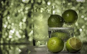 Picture food, lime, lemon, drink