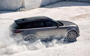 Wallpaper Velar, 2017, Sand, Range Rover, Land Rover