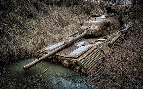 Wallpaper weapons, army, tank