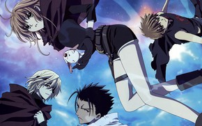 Picture fantasy, anime, art, characters, animals, Tsubasa Reservoir Chronicles