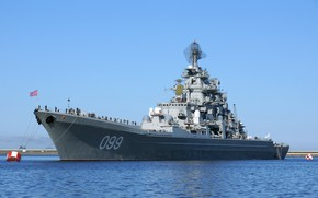 Picture cruiser, heavy, atomic, Navy, the project 1144, Peter the great