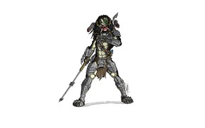 Picture predator, spear, predator, thing helmet