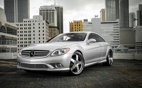 Picture Mercedes, wheels, rear, Vellano, Lorinser, CL63, spoiler, broadcast, CL550
