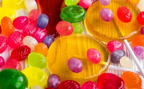 Picture the sweetness, candy, lollipops, dessert