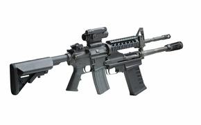 Wallpaper weapon, Shotgun, gun, Modular Accessory, M26
