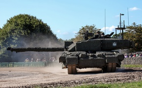 Picture army, tank, camouflage