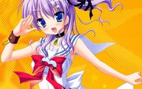 Picture anime, japanese, bishojo, seifuku, Natsume Nagisa, Mihama Hitsuji