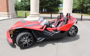 Picture beautiful, comfort, hi-tech, Polaris, Slingshot, technology, sporty, tricycle, 052