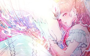 Picture Pegasus, by kuroe, ChibiUsa, Seilor Moon