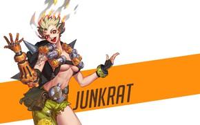 Picture Overwatch, Junkrat, r63