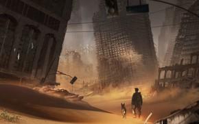 Picture the city, destruction, sable, city sand 2