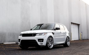 Picture wall, Range Rover, with, Sport