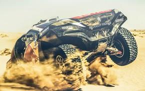 Picture Sand, 2008, Sport, Speed, Race, Peugeot, Lights, Red Bull, Rally, Dakar, Dakar, Rally, Sport, The …