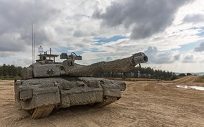 Picture weapons, tank, Challenger 2