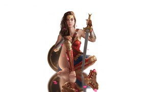 Wallpaper Wonder Woman, Comics, Batman