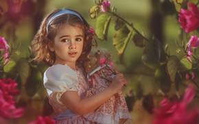 Picture doll, girl, Evgeny Loza, Yevhen Makarenko
