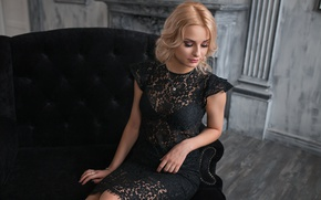 Picture room, chair, dress, Dmitry Sn