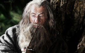 Picture figure, The Lord of the Rings, Gandalf, artwork, The Hobbit, Gandalf The Grey, Mithrandir