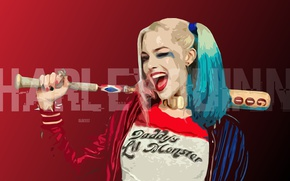 Picture Harley Quinn, DC Comics, Harley Quinn, Suicide Squad, Suicide Squad, Robbie Margot, Margot Robbie