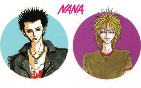 Picture smile, jacket, cigarette, guys, chain, art, ai yazawa, nana, ren honjo, NAN, naoki fujieda