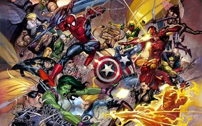 Picture fantasy, Marvel, comic