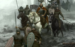 Picture shield, pearls, blade, Mount & Blade II Bannerlord, Mount & Blade II, Mount & Blade, ...