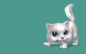 Picture mood, the game, art, kitty, children's, kitty