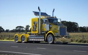 Picture Kenworth, Lake, Trucking