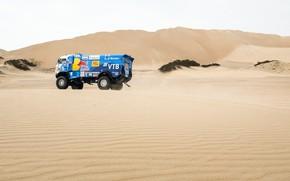 Picture Sand, Sport, Truck, Race, Master, Russia, Red Bull, 500, Kamaz, Rally, Dakar, KAMAZ-master, Dakar, Rally, …