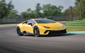 Picture Lamborghini, race, speed, Huracan, Huracan Performante, Lamborghini Huracan Performance