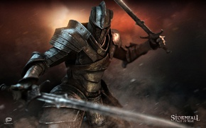 Picture sword, game, armor, ken, blade, warrior, pearls, Storm case, Stormfall: Age Of War