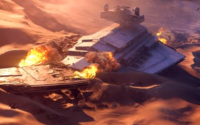 Picture the game, Star Wars, Star Wars, starship, Electronic Arts, Star Wars Battlefront
