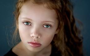 Picture portrait, girl, Sofia