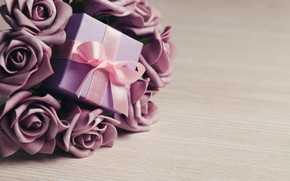 Picture love, flowers, roses, love, flowers, romantic, Valentine's Day, gift, roses, violet