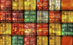 Picture background, color, containers