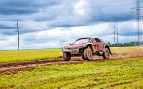 Picture Sport, Speed, Race, Dirt, Peugeot, Lights, Red Bull, Rally, Rally, Sport, DKR, 3008, Silk road, …