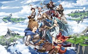 Picture sword, gun, game, armor, anime, ken, blade, dragon, asian, warrior, japanese, oriental, wepon, Granblue Fantasy, …