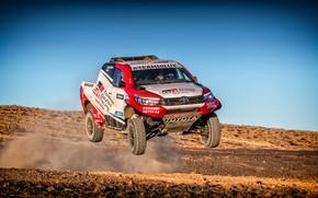 Picture Auto, Sport, Machine, Speed, Race, Toyota, Hilux, Rally, SUV, Rally, Sport, Toyota, Hilux, The roads, …