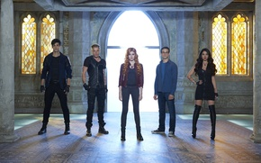 Picture look, actors, the series, Movies, Institute, Shadowhunters, Shadowhunters