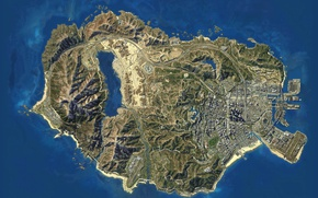Picture Game, Map, GTA 5