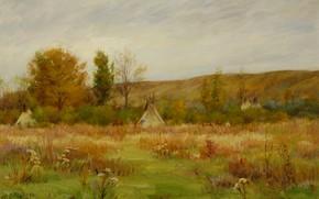 Picture Montana, Joseph Henry Sharp, Crow Reservation